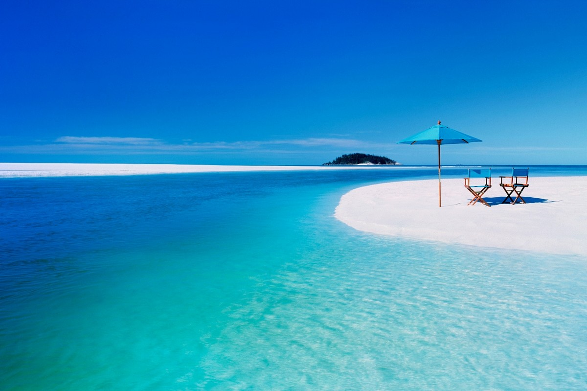 whiteheaven beach playa australia